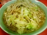 ラーメン+野菜増+辛口