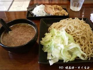 つけ麺(¥750)+魚入りスープ(¥100)+大盛(¥100)