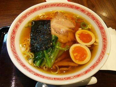 東京ラーメン(650円)+煮玉子(100円)