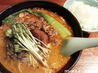紅焼肉担々麺