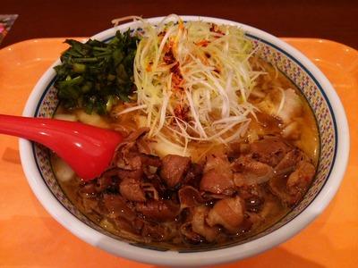 白髪葱たっぷり炙り豚しゃぶラーメン950円