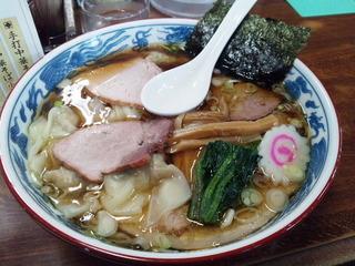 焼豚ワンタン麺