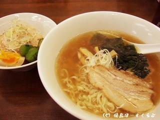 ランチセット(佐野ラーメン+チャーシュー丼)
