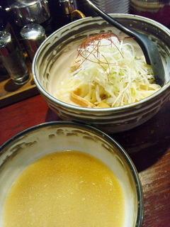 鶏白湯塩つけ麺