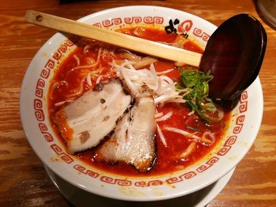 赤味ラーメン720円