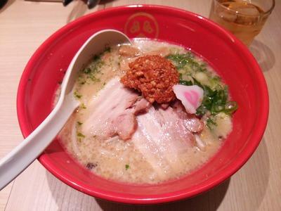 赤玉辛か味噌タンメン880円