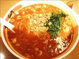 麻辣担担麺+二辛