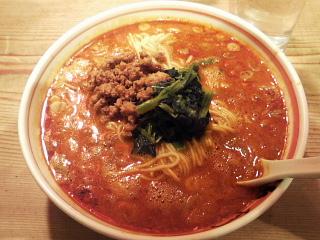 麻辣担担麺+中盛+一辛