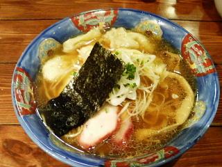 特製ワンタン麺[黒だし]