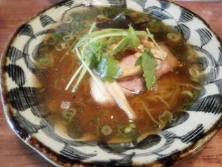 上大岡式 地鶏と魚介の醤油