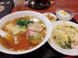 チャーシュー麺・炒飯ランチ