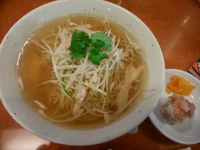 鶏ネギスープ麺