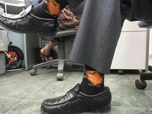 ノブりんの靴下