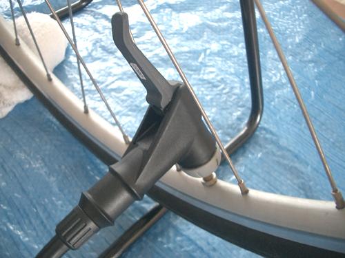 ムーミソ一家。:自転車に空気 ...