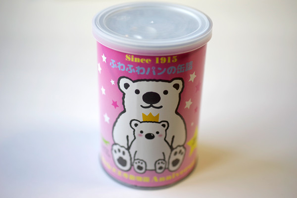 ふわふわパンの缶詰