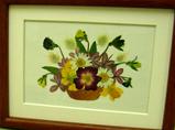 加藤さんの押し花作品