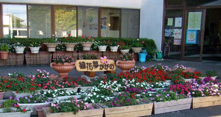 花いっぱいの加賀野公民館
