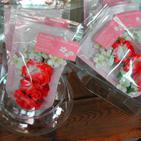パッケージの花