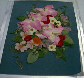 押し花作品、2