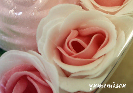 バラの石鹸