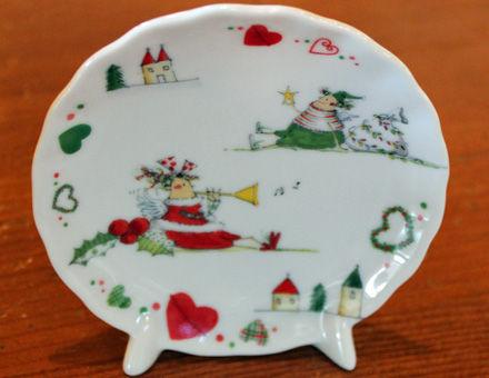 ポーセラーツの飾り皿