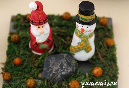 クリスマスのアレンジ