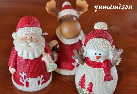 クリスマスの置物
