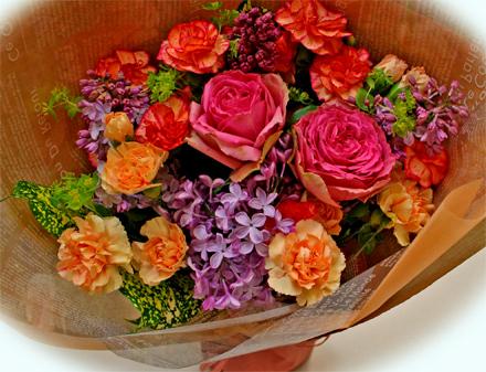 母の日の花束3000円