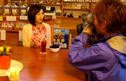 MROテレビ「THE NEWS」で、ブラックベリーの取材