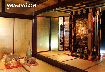 金箔の仏壇