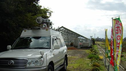 NHK金沢放送局が、シクラメンの取材