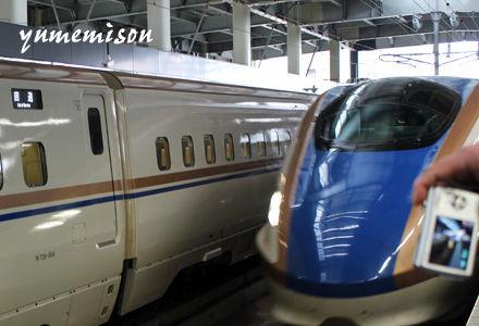 北陸新幹線試乗会