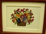 長野さんの押し花作品