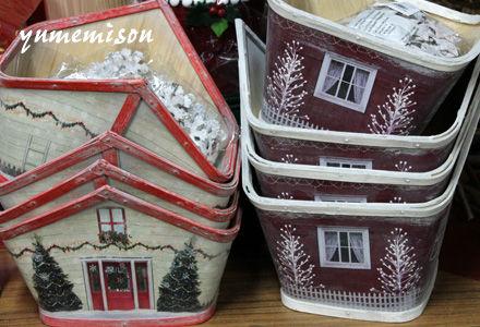 小さい家型鉢カバー