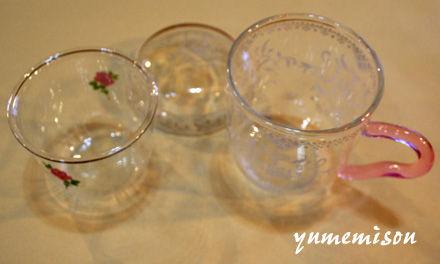 ガラスのマグカップ1