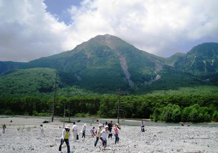 上高地の焼岳