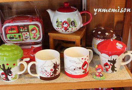 赤ずきんちゃんのマグカップ