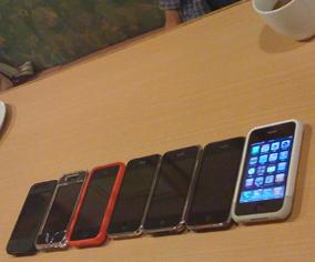 iPhone整列