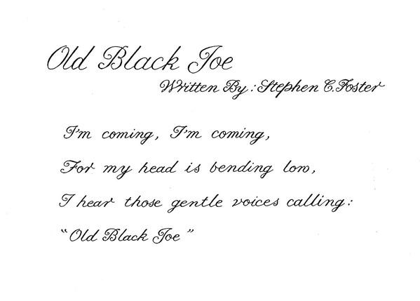 OldBlackJoe