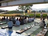 三納川花見会①