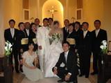 晃司結婚式②