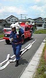 消防操法練習H20.5.25