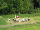 古代米の収穫H20�