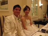 晃司結婚式①