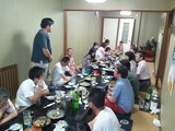 吾田地区バレー大会打ち上げ2012