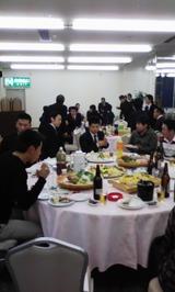 日南市青年団20年度総会後の懇親会