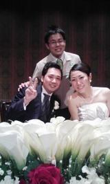 長崎太郎結婚式②
