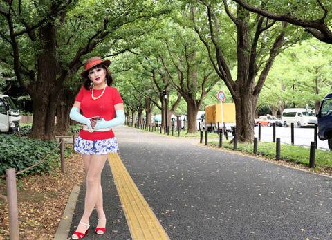 外苑散策6/いちょう並木