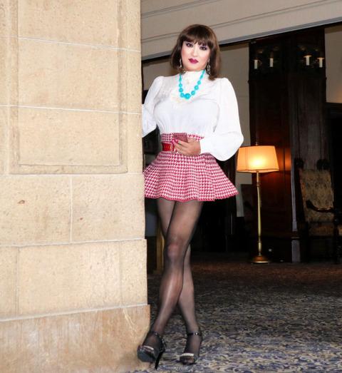 ミニスカート9/横浜ニューグランドホテル