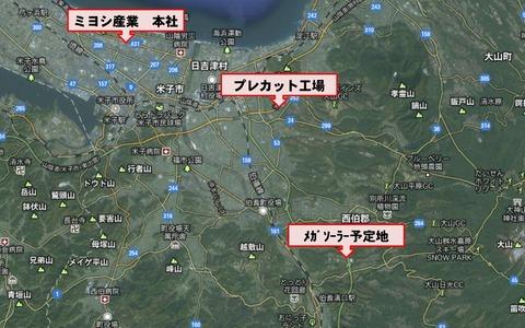 ミヨシ・PC・ソーラー地図